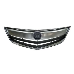 ACURA ILX GRILLE ASSEMBLY CHR/DK-GRAY (W/UPPER&OUTER CHROME MLDG) OEM#71121TX6A11-PFM 2013-2015