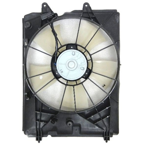ACURA MDX RADIATOR FAN ASSEMBLY LEFT (PLASTIC SHROUD) OEM