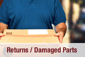 Return Damaged Parts