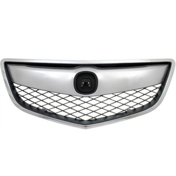 ACURA RDX GRILLE ASSEMBLY CHR/DK-GRAY (1PC W/UPPER&OUTER