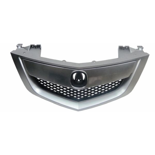 ACURA MDX GRILLE ASSEMBLY CHROME SATIN NICKEL/BLK (WO