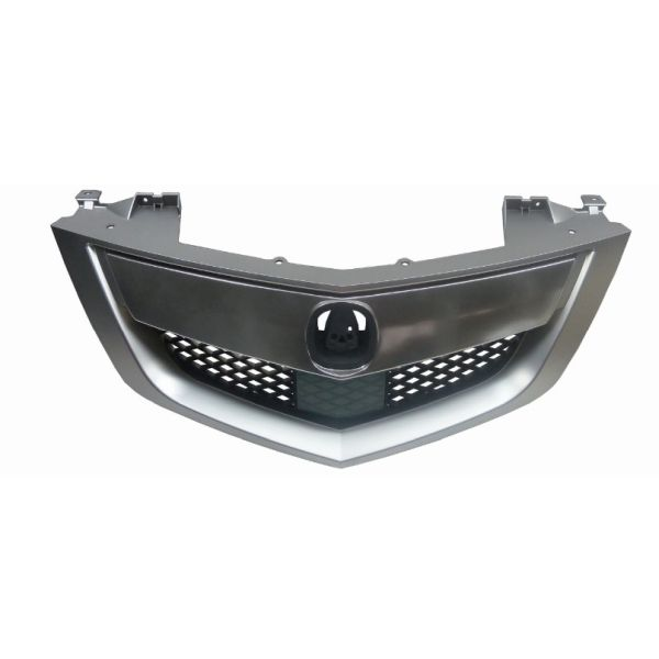 ACURA MDX GRILLE ASSEMBLY CHROME SATIN NICKEL/BLK (W