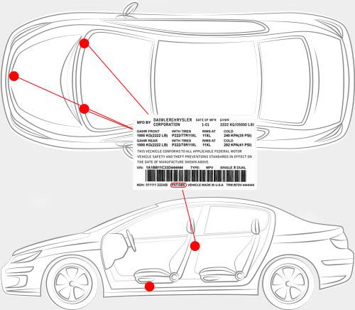 Jeep Paint Code Locator